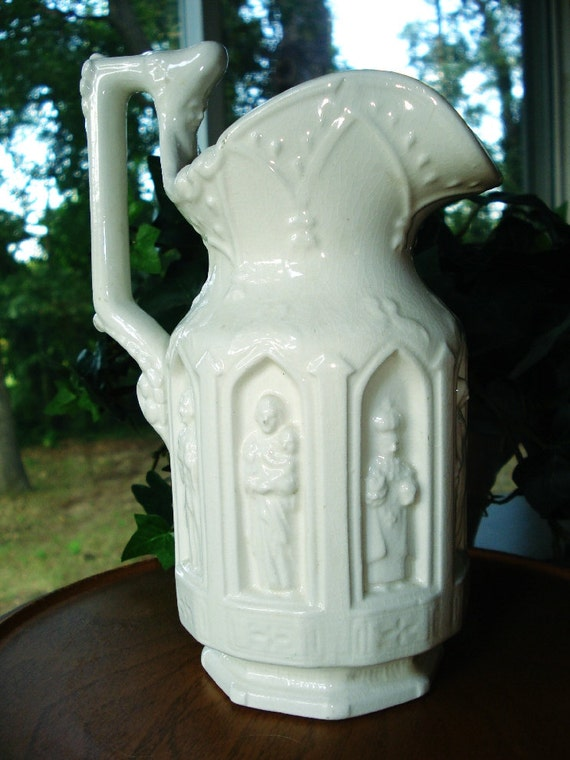 Reduced 1960 Lego Ceramic Apostles Pitcher Nice