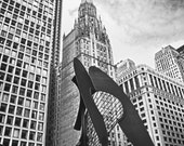 Chicago Picasso, The Loop photograph 8x10