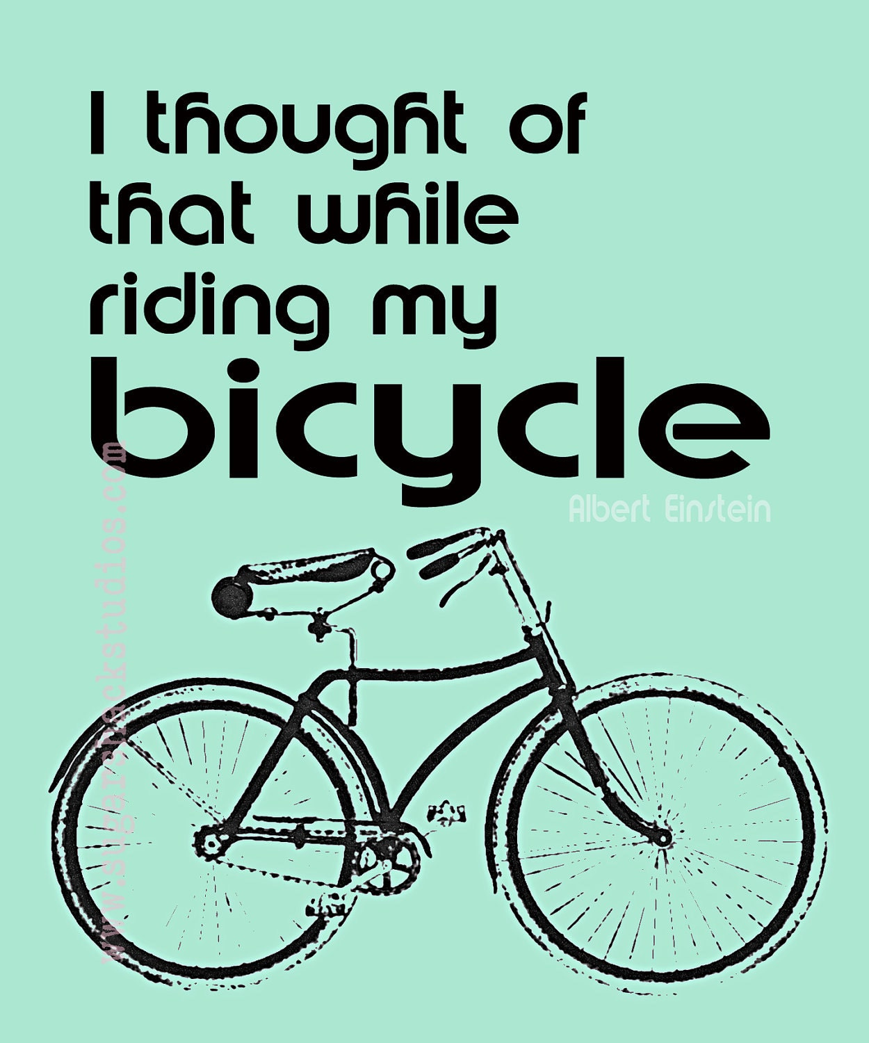 Albert Einstein Quotes Life Is Like Riding A Bicycle: Your Place To Buy And Sell All Things Handmade