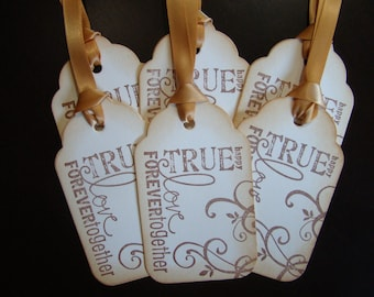 Words of Love Wedding Gift/Wish Tree Tags