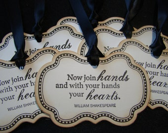 William Shakespeare - Love Quote Gift/Wish Tree Tags