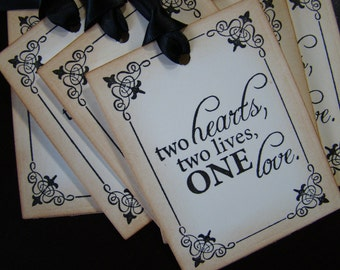 Decorative Framed Wish Tree/Gift Tags