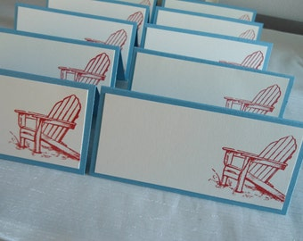 Adirondack Chair Place/Escort Cards
