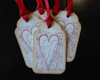 My Heart Belongs To You - Gift Tags
