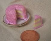 Iced Sugar Cake Pink