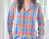 Button Up Boyfriend Shirt
