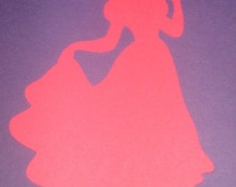 Disney Princess Snow White Silhouettes for framing, birthday parties, invitations, banners, scrapbooking