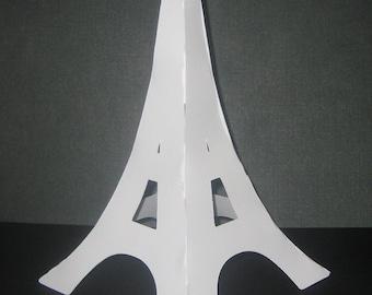 3D Eiffel Tower centerpiece for birthdays,bridal showers,Paris party,pink poodles in paris,favor kit