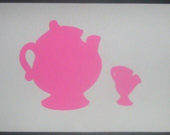 Princess silhouettes,Cinderella, Snow White, Sleeping Beauty, Belle, Little Mermaid, matted art for framing, birthday parties