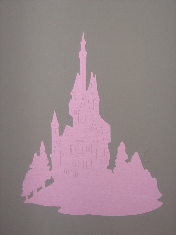 items similar to diecut princess castle from aladdin