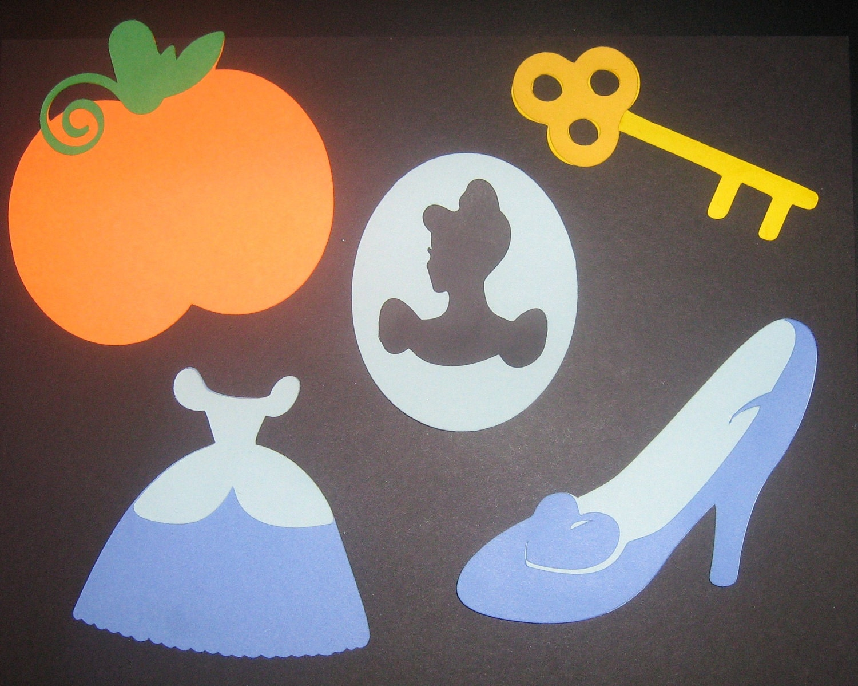 Cinderella Centerpiece Accessories Scrap Booking