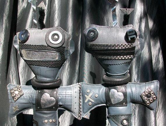 Symbionic Twins Voodoo Art Dolls