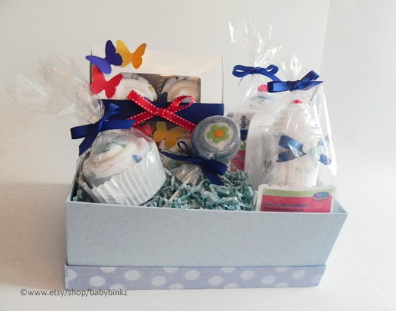 Creative Baby Gifts For Boy : Babybinkz gift basket unique baby shower or by