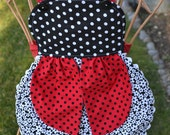 Personalized Kids Lady Bug Apron