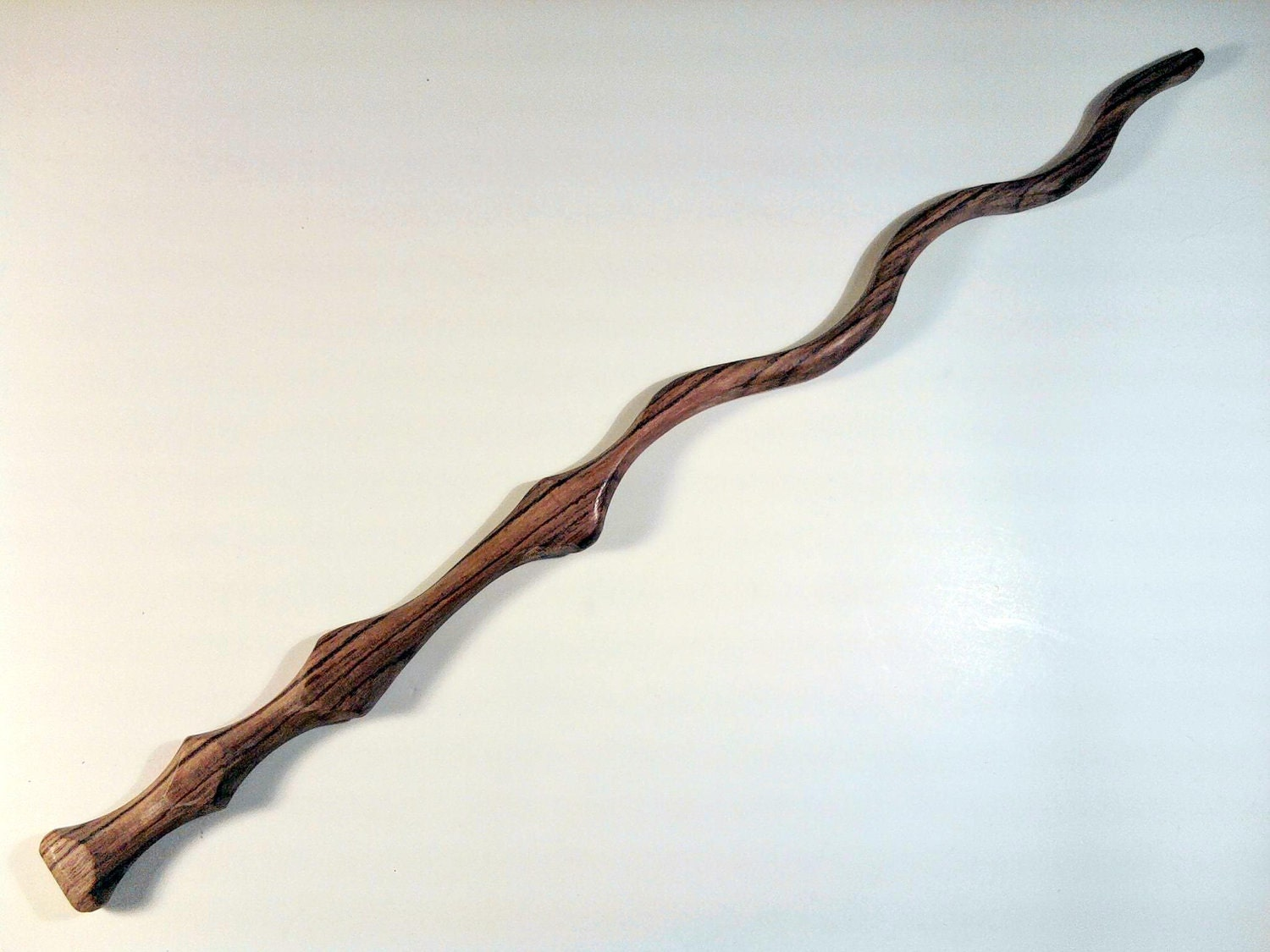 Hand carved kingwood wizard wand for Wizard wand