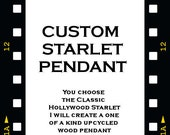 Custom Starlet Wearable Art Pendant - Made to order - Choice of Starlet, Color, and style