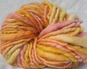 Hand spun art yarn 35 yards