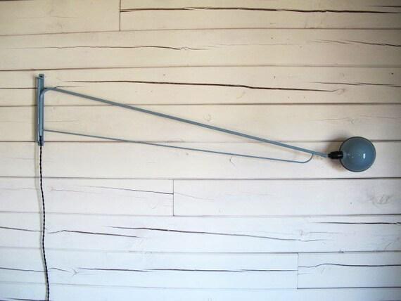 """Industrial wall lamp 'Wedgewood' enamel 65"""""""