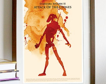 Star Wars: Episode II Attack of the Clones - Poster Print