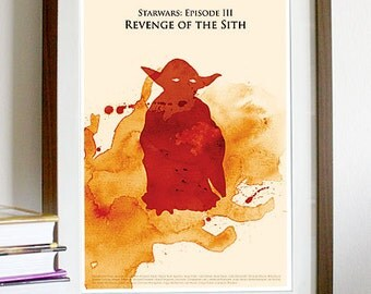 Star Wars Episode III: Revenge of the Sith - Poster Print