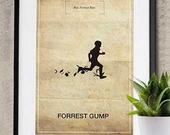 Forrest Gump Memorable Quote Movie Poster