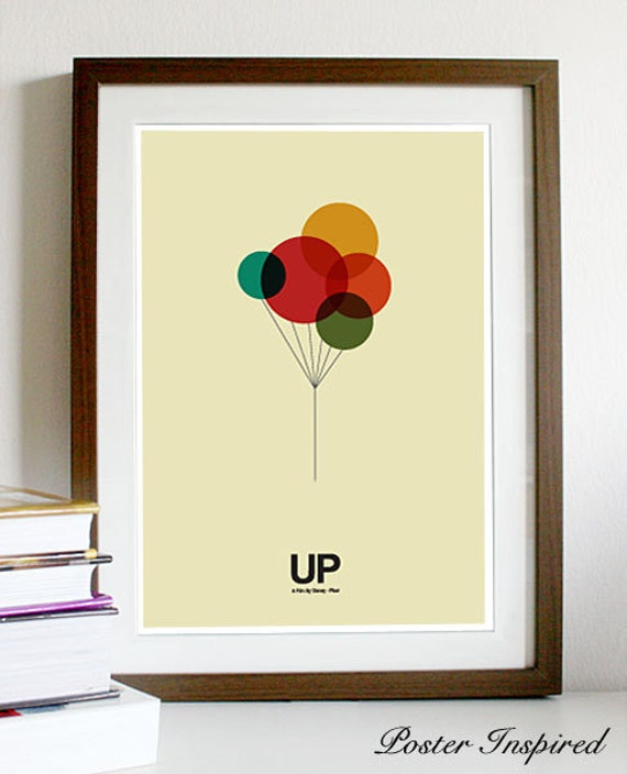 UP - Poster A3 Print