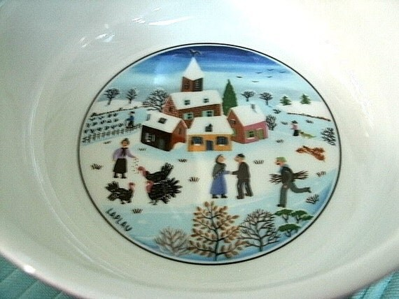 Boch New To You >> Villeroy & Boch Naif Christmas Dinnerware Three Soup