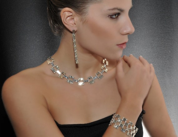 """Solid Sterling Silver Necklace with 18K Gold - """"Sultana"""""""