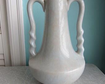 Gonder Vase, H-5 Double Handled Vase, Gonder Pottery & Studio, Zanesville Ohio, Art Pottery Vase, Art Pottery Jug, Mid Century Vase, Urn