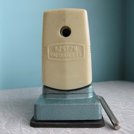 Vintage Boston Vacuumette Pencil Sharpener