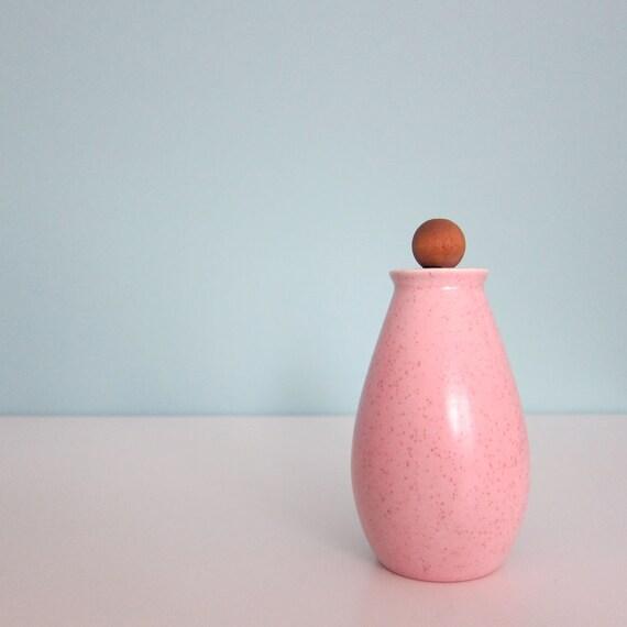 Vernon Ware Tickled Pink Salt Shaker