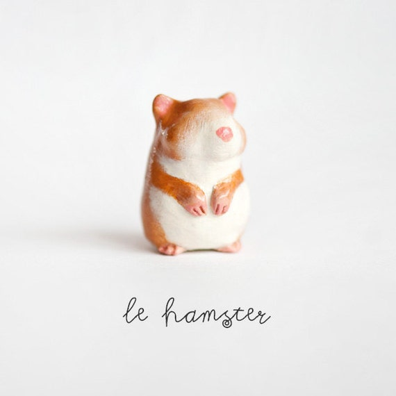Le Hamster Peridot Totem by le animalé
