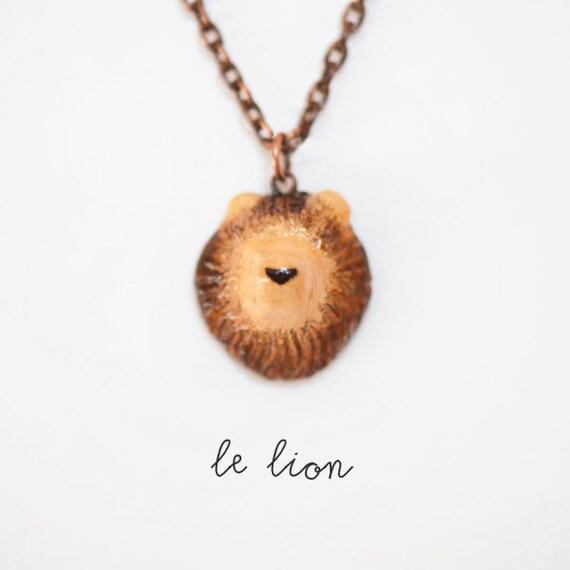 RESERVED Le Lion Petite Necklace