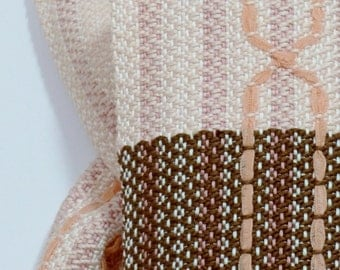Handwoven Ribbon Cable Scarf