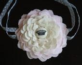 I'm A Queen-Fabric Flower Headband
