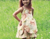 Viola Sweetheart Dress PDF Pattern Tutorial, Easy How to, Ebook, Epattern, Sizes 2-7 included