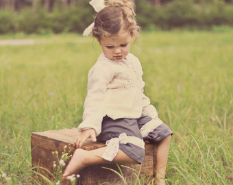 Charlotte Pantaloons PDF Pattern & Tutorial, Sizes 12 months-6 years