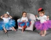 Baby DIY Tutu Kit:  DIY Tutu 6 Months, 12 Months, 18 Months - You Choose Color(s) - Make At Home