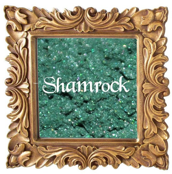 Shamrock 5g Pigmented Mineral Eye Shadow Jar with Sifter