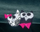 Adorable Husband & Wife Owl Wedding Favors- Made to Your Wants