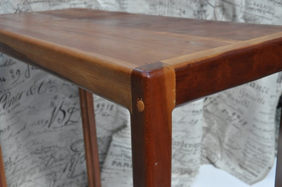 Mid Century Primitive Table