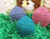 Easter Egg Lace Bookmark/Ornament ...can be made to order