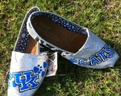 Custom Glitter TOMS Shoes