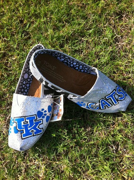 Custom Glitter TOMS Shoes