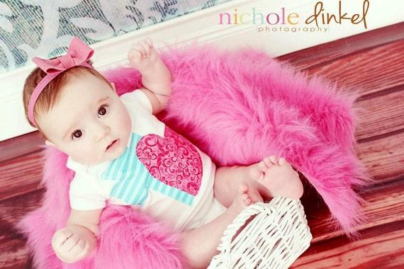 Felt Bow - Baby Headband - Pink - Boutique Headband - Baby Photo Prop - Toddler Headband - Rose - Blush - Infant Headband