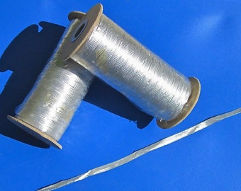 SALE.. Silver Metallic Trim, 288 Yards - Free Shipping