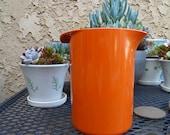 Rosti orange pitcher denmark danish modern