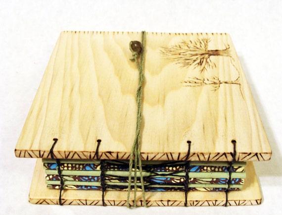Wooden Tree Journal- Small - Handmade