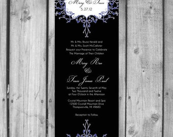 Ornate Wedding Invitation Set