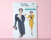 VINTAGE 1980s dress pattern